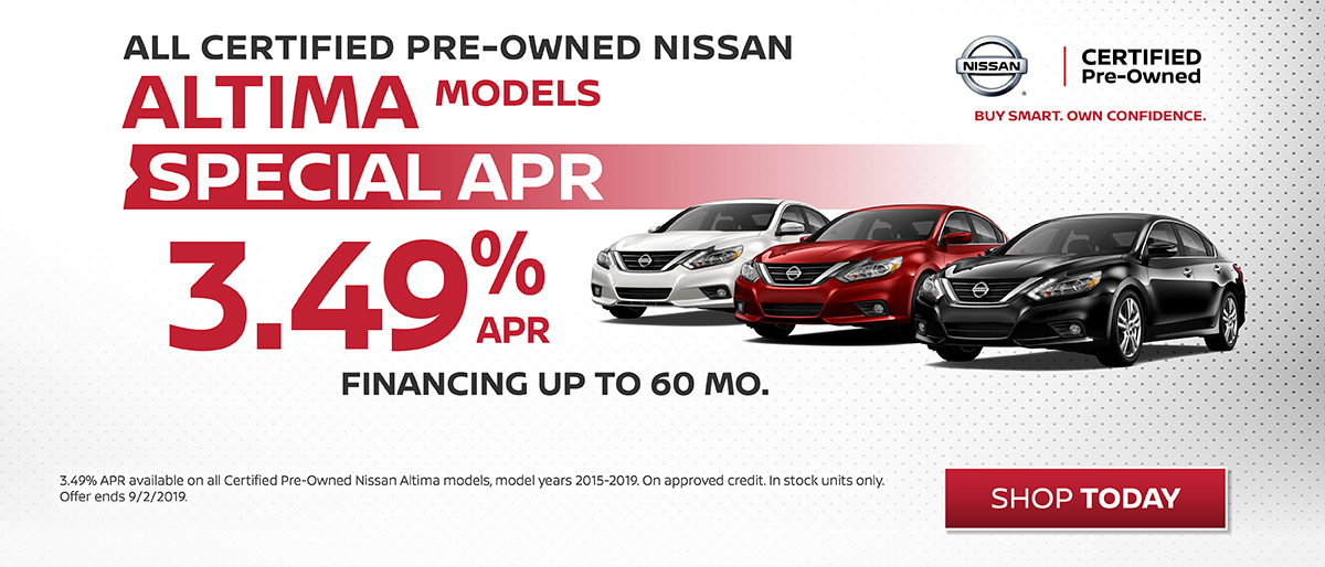 Nissan Altima Certified Pre-Owned